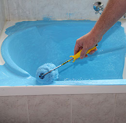 SHIELD N PEEL BATH & SPA ACRYLIC protects against tub & shower repairs caused during construction.